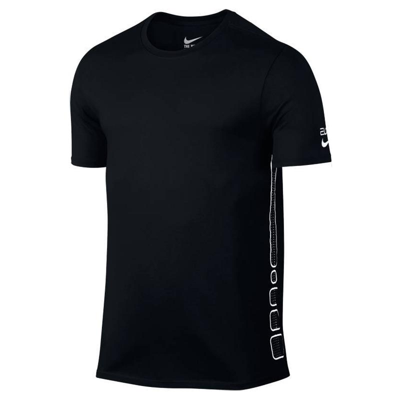 nike elite basketball tshirt noir