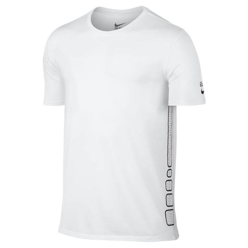 Nike Elite Basketball Tshirt - Blanc