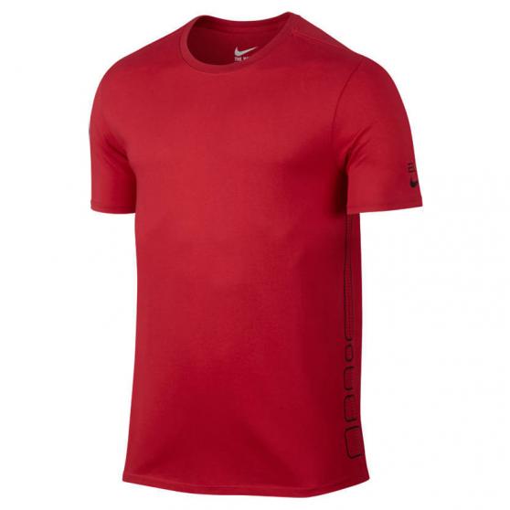 nike elite basketball tshirt rouge