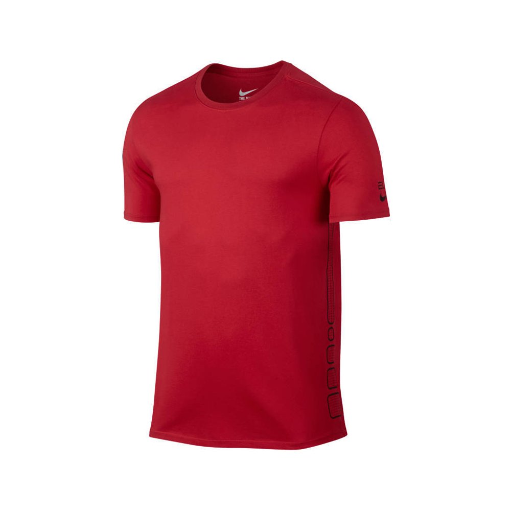Nike Elite Basketball Tshirt Rouge