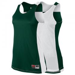 Nike League Reversible Tank Femme - Vert & Blanc