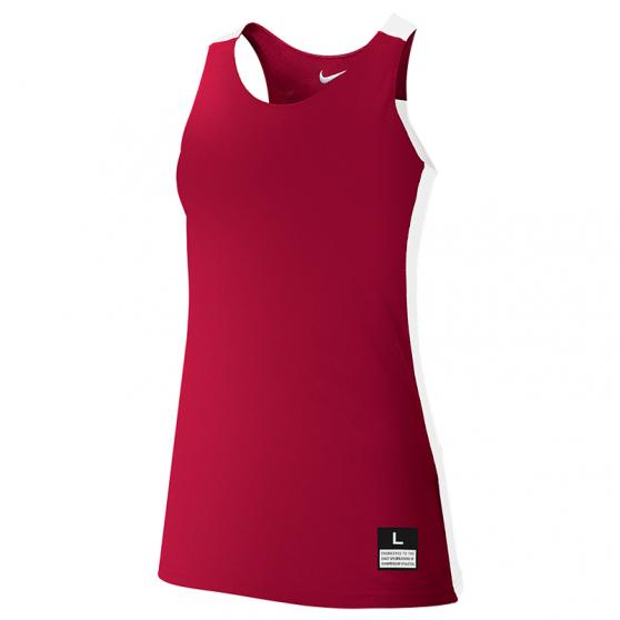 Nike League Reversible Tank Femme - Rouge & Blanc