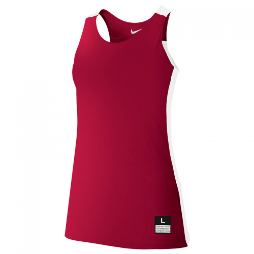Nike League Reversible Tank Femme - Rouge & Blanc