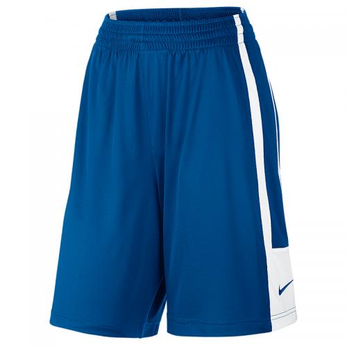 Nike League Reversible Short Femme - Royal & Blanc