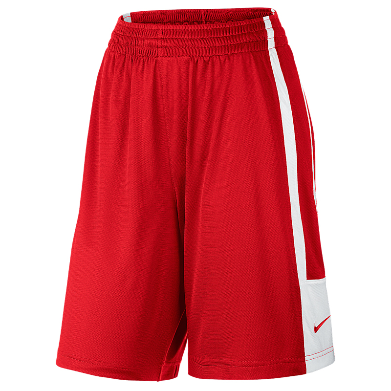 new arrival d9e52 7c58a Nike League Reversible Short Femme - Rouge & Blanc
