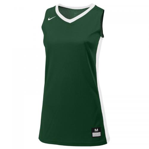 Nike Fastbreak Jersey - Vert & Blanc