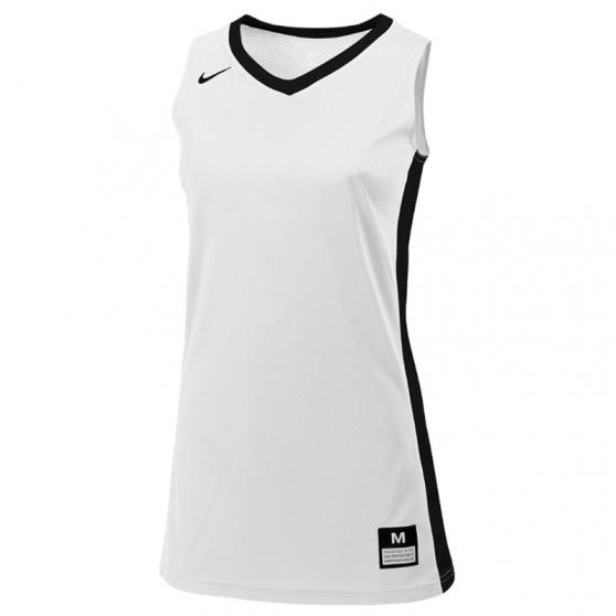 Nike Fastbreak Jersey - Blanc & Noir