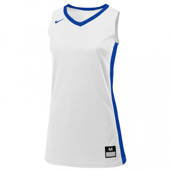 Nike Fastbreak Jersey - Blanc & Royal
