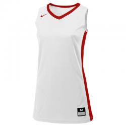 Nike Fastbreak Jersey - Blanc & Rouge