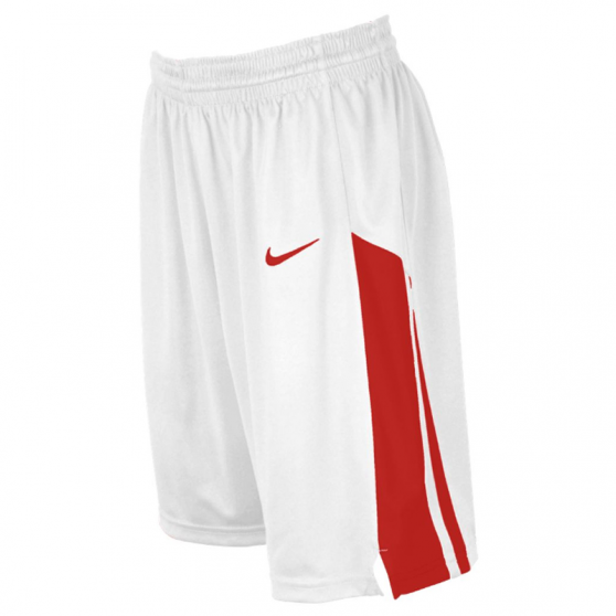 Nike Fastbreak Short - Blanc & Rouge
