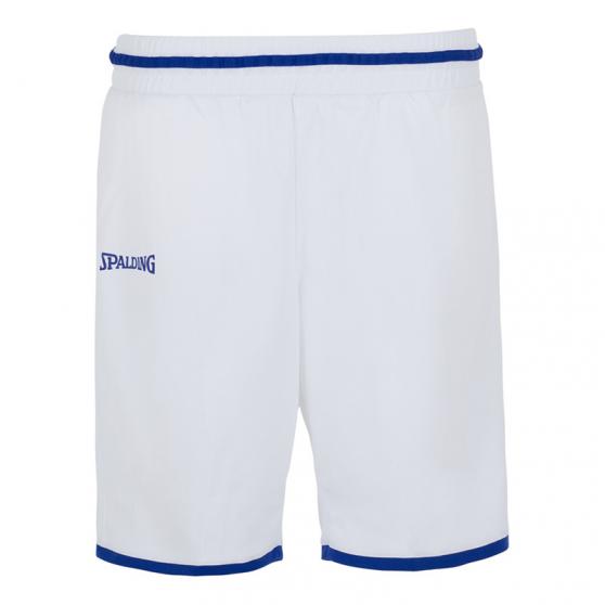 Spalding Move Shorts Women - Blanc & Royal