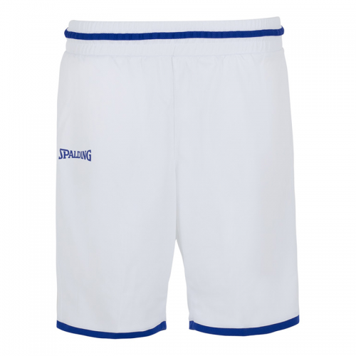 Spalding Move Shorts Women - Blanc & Royal