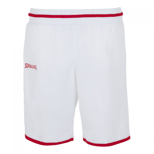 Spalding Move Shorts Women - Blanc & Rouge