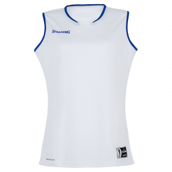 Spalding Move Tank Top Women - Blanc & Royal