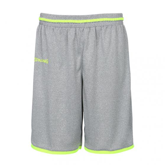 Spalding Move Shorts - Gris Chiné