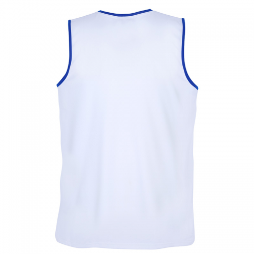 Spalding Move Tank Top - Blanc et bleu royal
