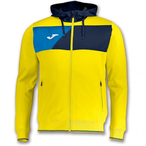 Joma Crew II Veste Capuche - Jaune & Bleu