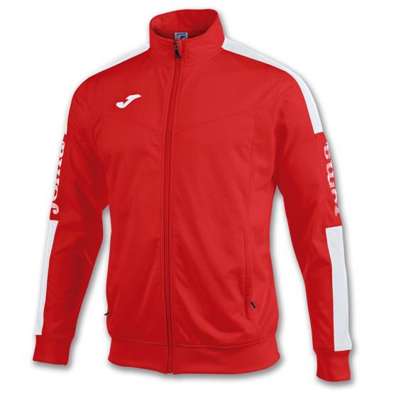 Joma Champion IV Veste - Rouge & Blanc