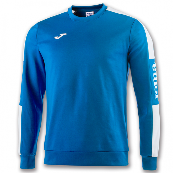 Joma Champion IV Sweat - Royal & Blanc