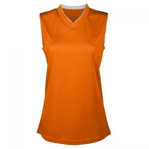 Maillot Basketball Femme - Orange