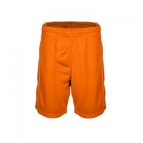 Short Basketball Femme - Orange