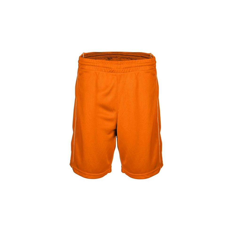 Short Basketball Femme - Orange