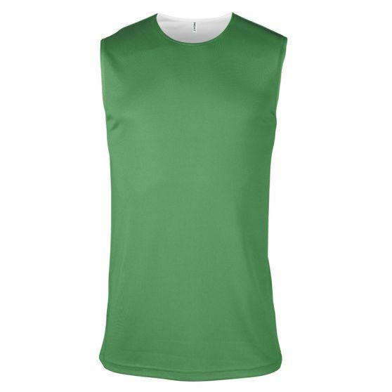 Maillot Basketball Réversible - Vert & Blanc