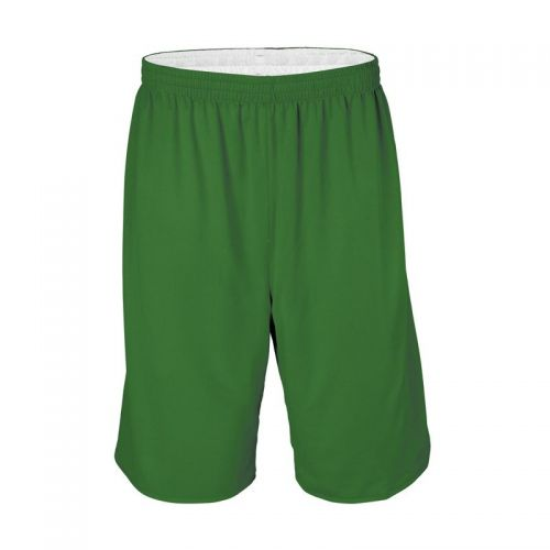 Short Basketball Réversible - Vert & Blanc