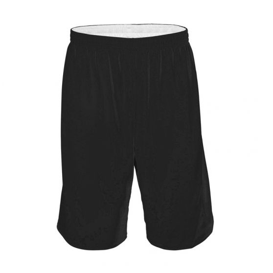Short Basketball Réversible - Noir & Blanc