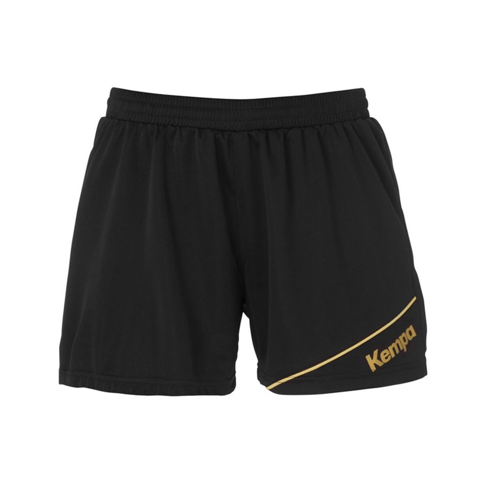 Kempa Gold Shorts Women - Noir & Or