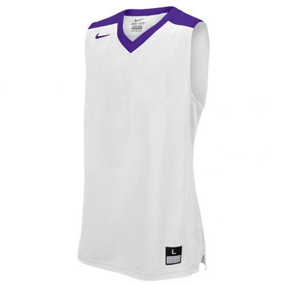 Nike Elite Franchise Jersey - Blanc & Violet
