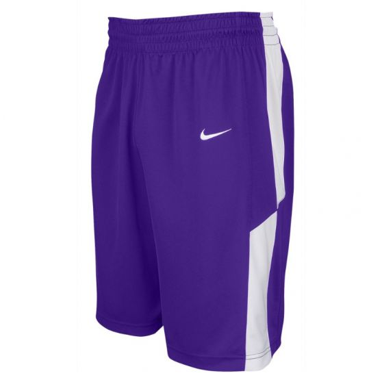 Nike Elite Franchise Short - Violet & Blanc