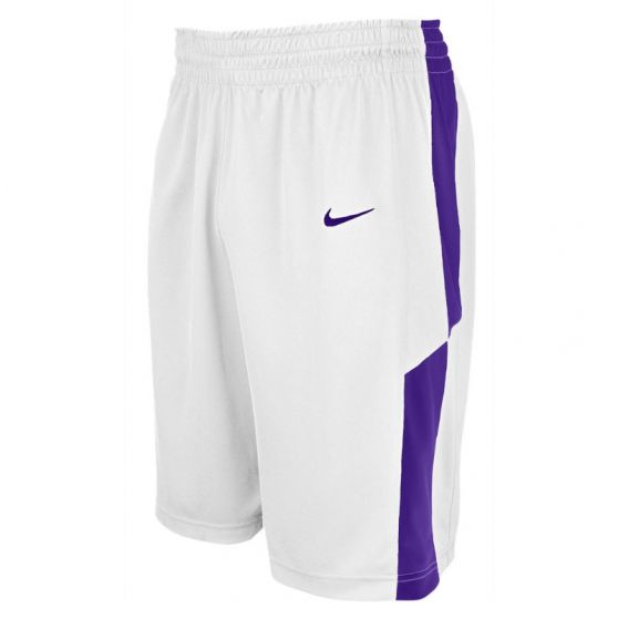 Nike Elite Franchise Short - Blanc & Violet
