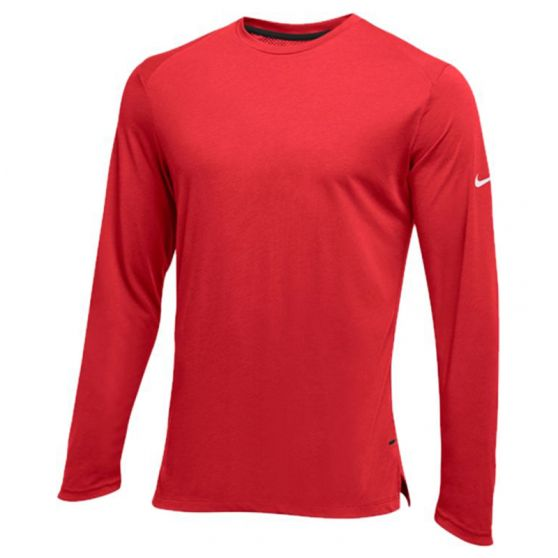 Nike Hyperelite Long Sleeve Shooter - Rouge