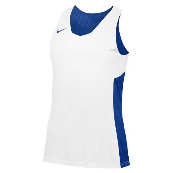 Nike Reversible Tank Femme - Royal & Blanc