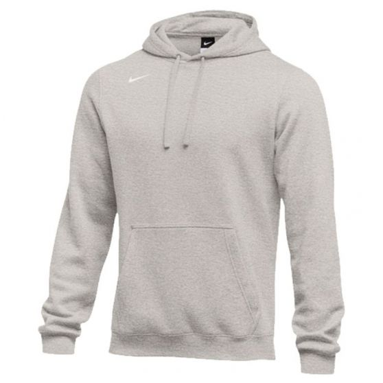 Nike Club Fleece Pullover Hoody - Gris