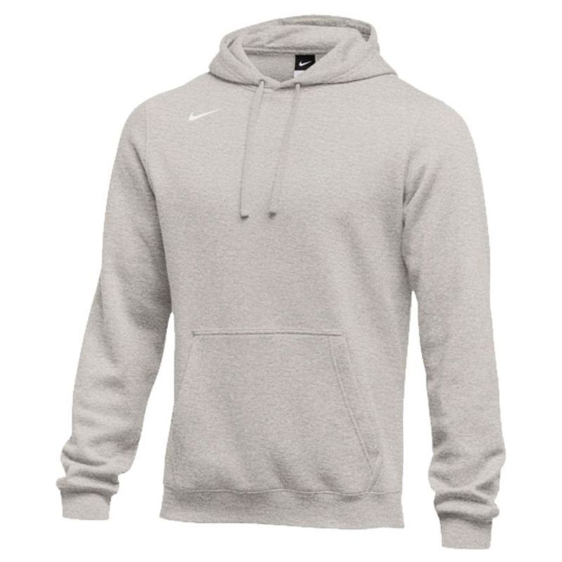 Pullover Fleece Hoody Nike Club Gris uF1JclTK3