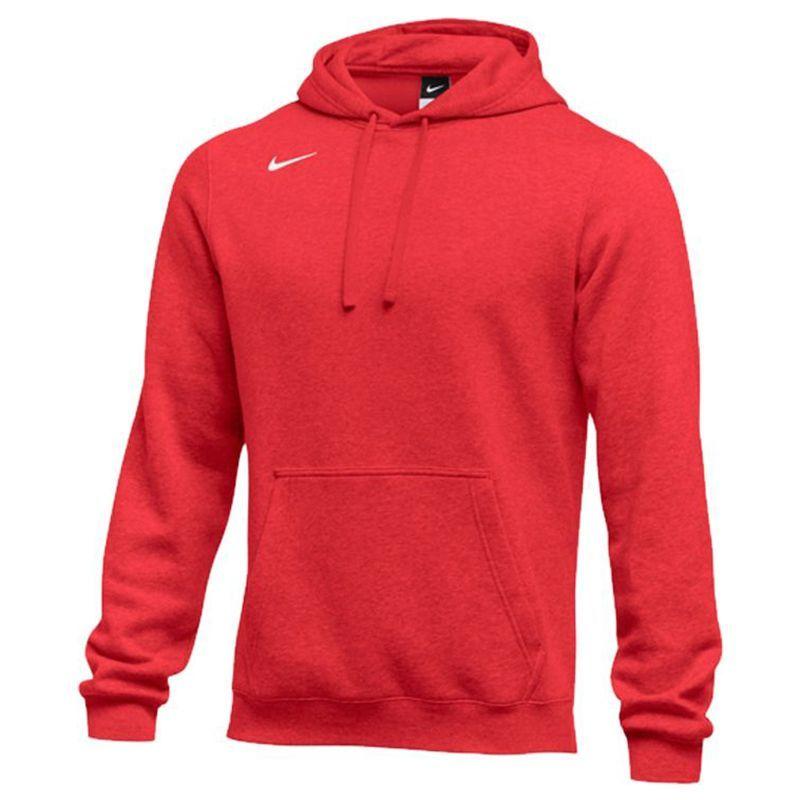 Nike Club Fleece Pullover  Hoody - Rouge