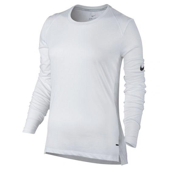 Nike Dry Elite Basket-ball Top Femme - Blanc