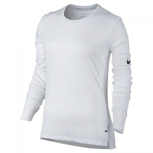 Nike Dry Elite Basket-ball Top Femme - Blanc