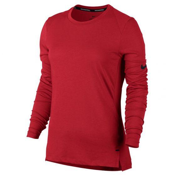 Nike Dry Elite Basket-ball Top Femme - Rouge