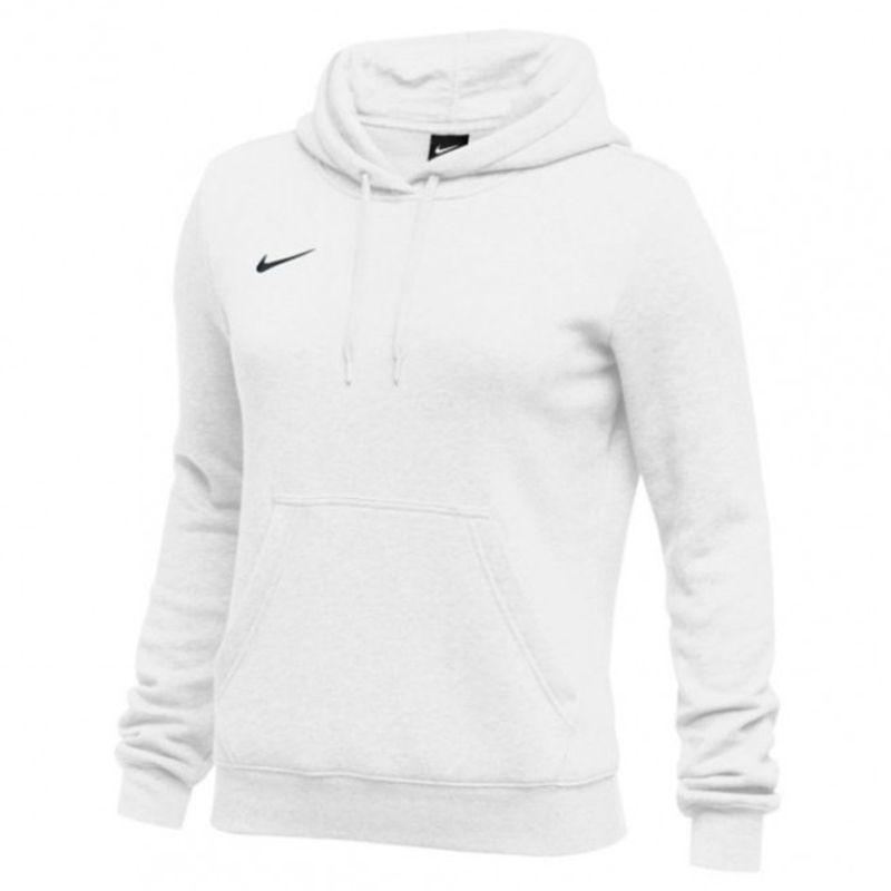 a few days away fashion designer fashion Nike Club Fleece Pullover Hoody Femme - Blanc