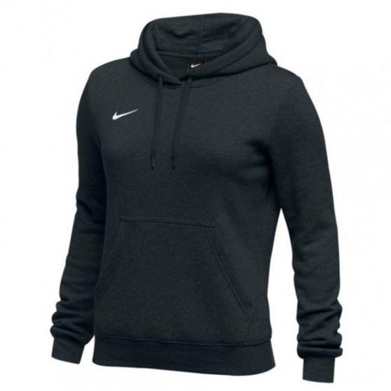 Nike Club Fleece Pullover Hoody Femme - Noir