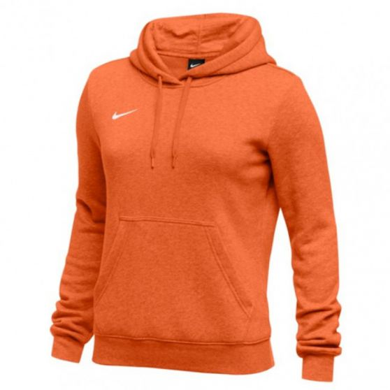 Nike Club Fleece Pullover Hoody Femme - Orange
