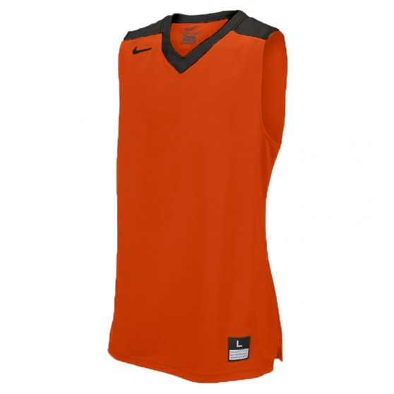 Nike Elite Franchise Jersey - Orange & Noir