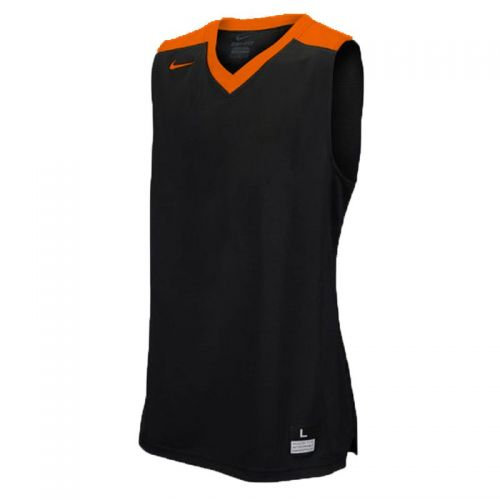 Nike Elite Franchise Jersey - Noir & Orange