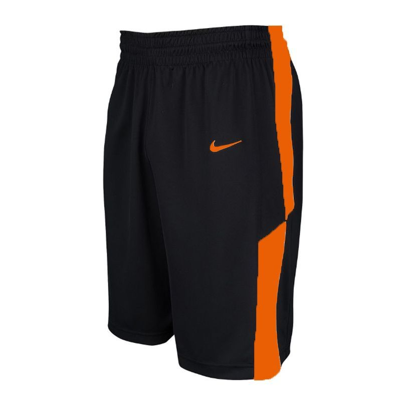 Nike Elite Franchise Short - Noir & Orange