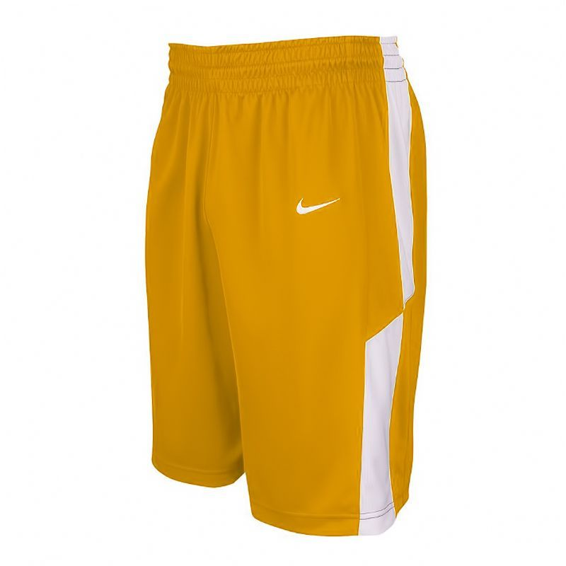 Nike Elite Franchise Short - Jaune & Blanc