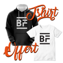 OFFRE Black Friday - 1 sweat acheté, 1 tshirt offert