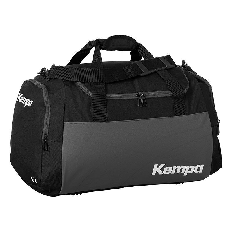 Kempa Teamline Sportsbag L (75 L) - Noir & Gris